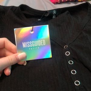Missguided Tops - NWT bodysuit